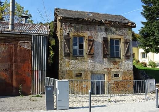 Kayl : réhabilitation d'une ancienne maison administrative des Mines à Tétange