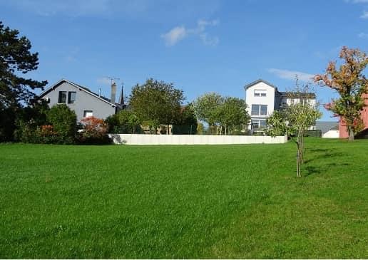 Mondercange : nouvelle construction à côté du centre culturel « Beim Nëssert » à Bergem